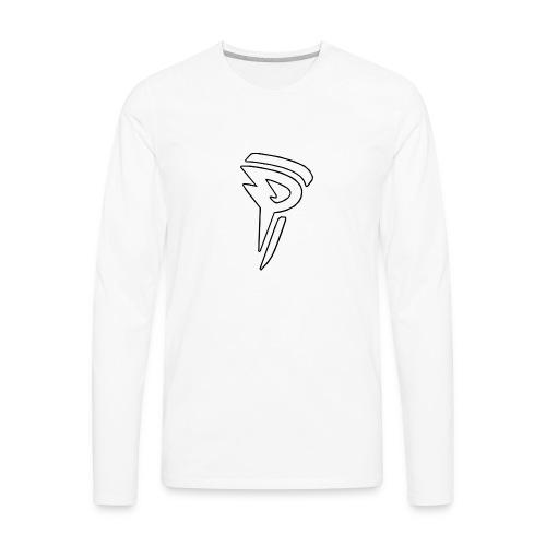 Predator Logo - Men's Premium Long Sleeve T-Shirt