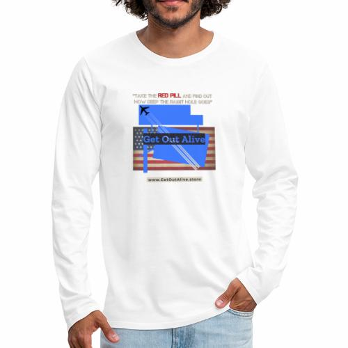 The Red Pill Store - Men's Premium Long Sleeve T-Shirt