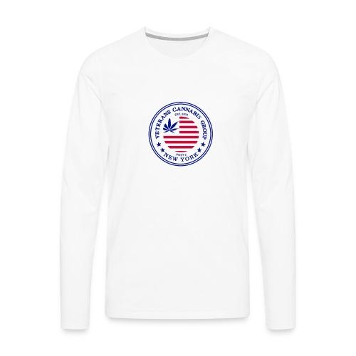 VCG Logo Post 2 NY - Men's Premium Long Sleeve T-Shirt