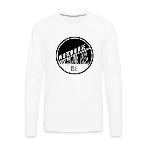 WordBridge Conference Logo - Men's Premium Long Sleeve T-Shirt