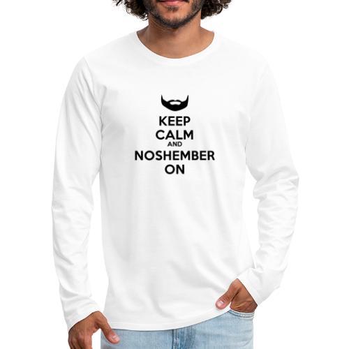 Noshember.com iPhone Case - Men's Premium Long Sleeve T-Shirt