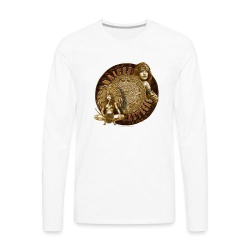 Raices Aztecas by RollinLow - Men's Premium Long Sleeve T-Shirt