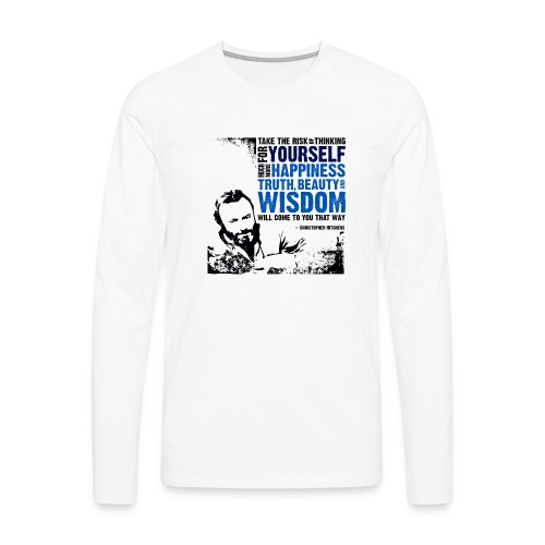 Think For Yourself - Men's Premium Long Sleeve T-Shirt