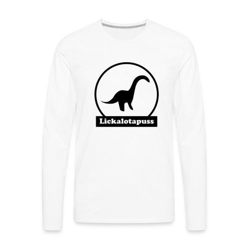 Lickalotapuss - Men's Premium Long Sleeve T-Shirt
