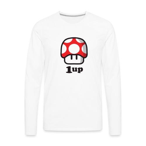 1 Up - Men's Premium Long Sleeve T-Shirt
