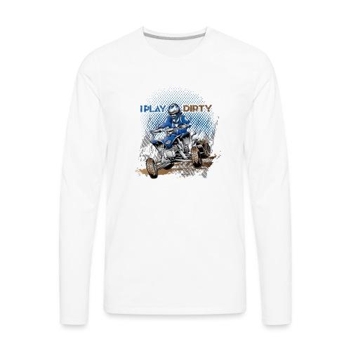 Dirty Quad Racer - Men's Premium Long Sleeve T-Shirt