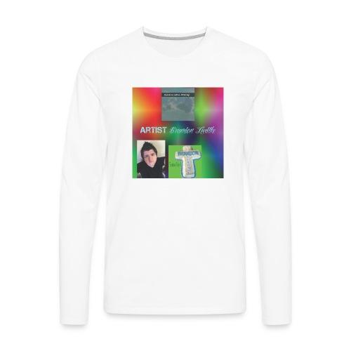 Brandons Music 1 - Men's Premium Long Sleeve T-Shirt