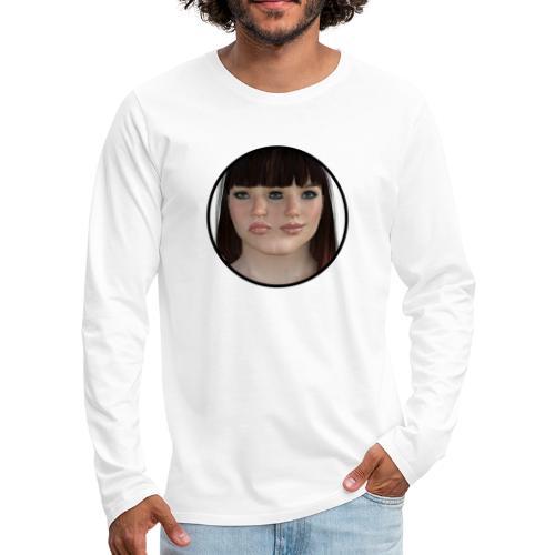 Two-faced women - Men's Premium Long Sleeve T-Shirt