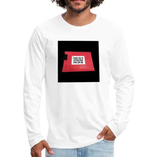 Distraction Envelope - Men's Premium Long Sleeve T-Shirt
