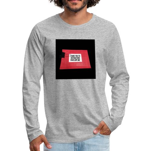Distraction Envelope - Men's Premium Long Sleeve T-Shirt