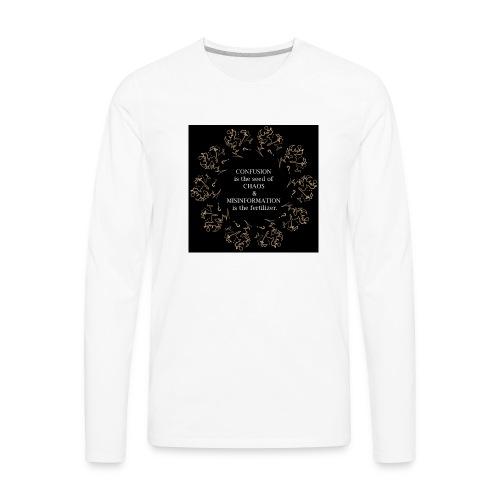 Chaos confusion - Men's Premium Long Sleeve T-Shirt