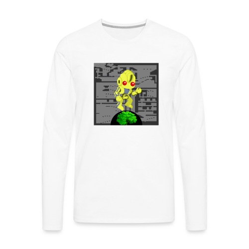 Hollow Earth Woman - Men's Premium Long Sleeve T-Shirt