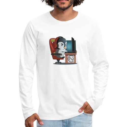 TNC Penguin - Men's Premium Long Sleeve T-Shirt