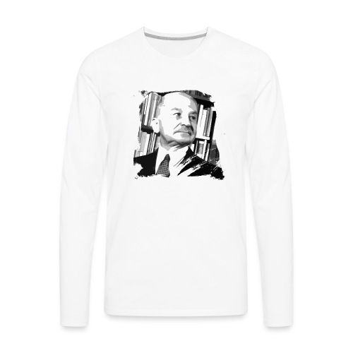 Ludwig von Mises Libertarian - Men's Premium Long Sleeve T-Shirt