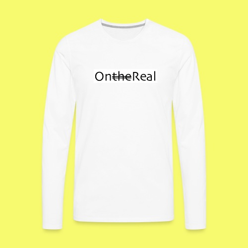 OntheReal ice 2 - Men's Premium Long Sleeve T-Shirt