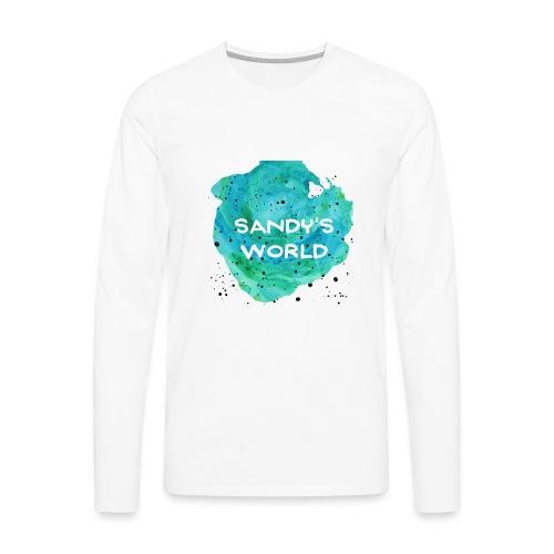 Sandy's World - Men's Premium Long Sleeve T-Shirt