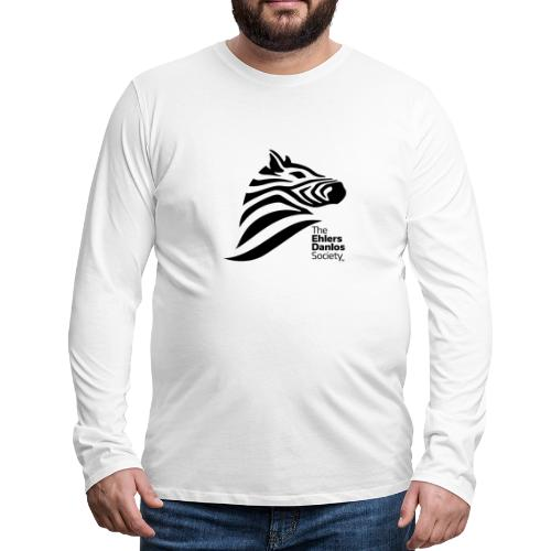 Ehlers-Danlos Society - Official Logo - Men's Premium Long Sleeve T-Shirt
