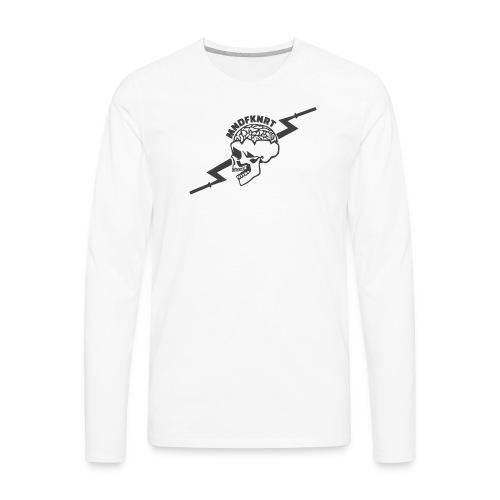 The SKULL - Men's Premium Long Sleeve T-Shirt