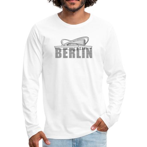 Pregnant oyster Berlin - Men's Premium Long Sleeve T-Shirt