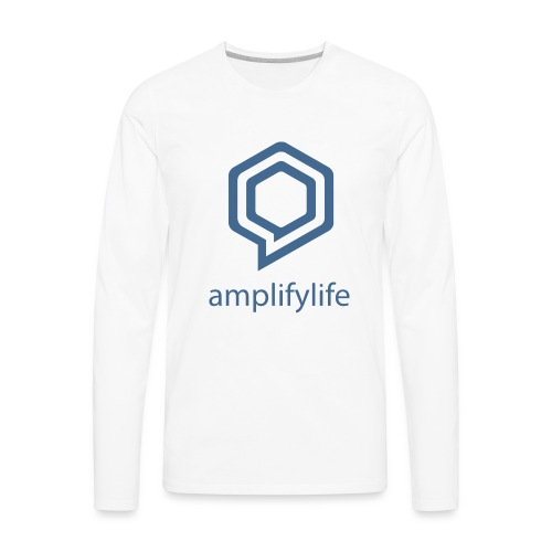 amplifylife - Men's Premium Long Sleeve T-Shirt