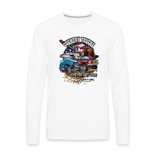 Country Off-Road Trucks - Men's Premium Long Sleeve T-Shirt
