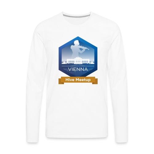 Hive Meetup Vienna - Men's Premium Long Sleeve T-Shirt