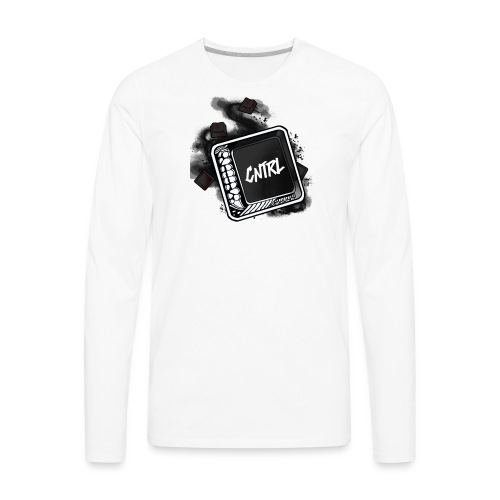 New CNTRL Logo - Men's Premium Long Sleeve T-Shirt