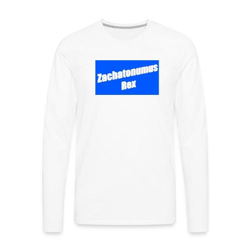 3d logo - Men's Premium Long Sleeve T-Shirt
