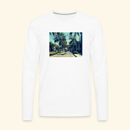 Blue Skies Beverley Hills Edition - Men's Premium Long Sleeve T-Shirt