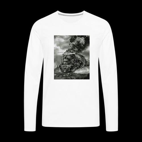 timezone - Men's Premium Long Sleeve T-Shirt