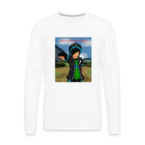 RoyceGumPlayz Official Logo! - Men's Premium Long Sleeve T-Shirt