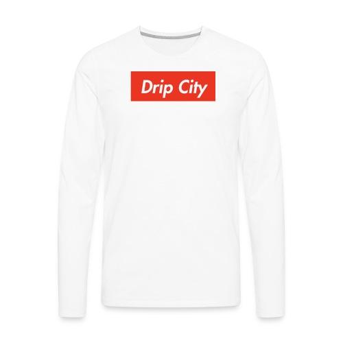 Drip City - Supreme tees - Men's Premium Long Sleeve T-Shirt