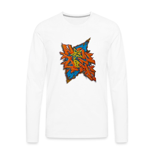 Artgomez14 - NYG Design - Men's Premium Long Sleeve T-Shirt