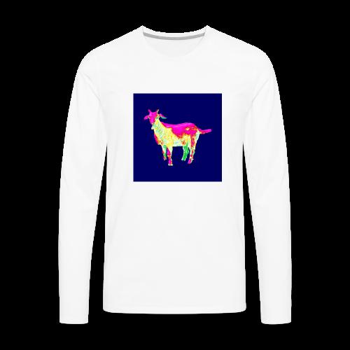 Barry Goat IRIDESENCE - Men's Premium Long Sleeve T-Shirt