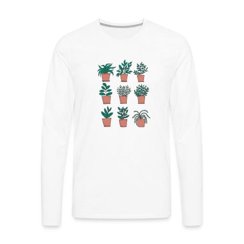 Flowerpots - Men's Premium Long Sleeve T-Shirt
