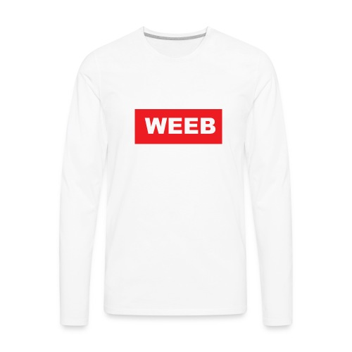 masdog weeb - Men's Premium Long Sleeve T-Shirt
