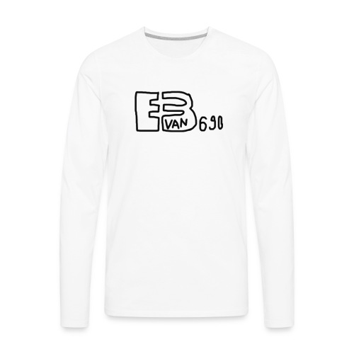 Evan3690 Logo - Men's Premium Long Sleeve T-Shirt