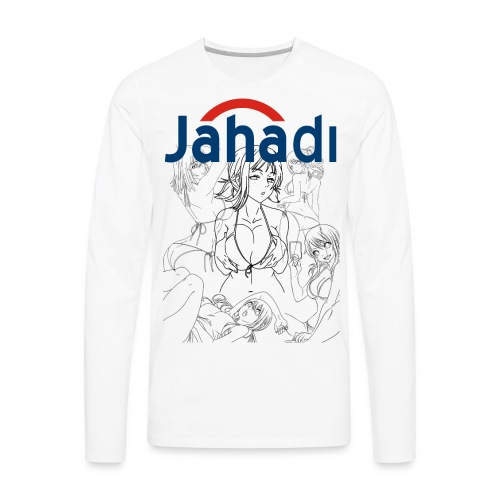 HADIBITCHES - Men's Premium Long Sleeve T-Shirt