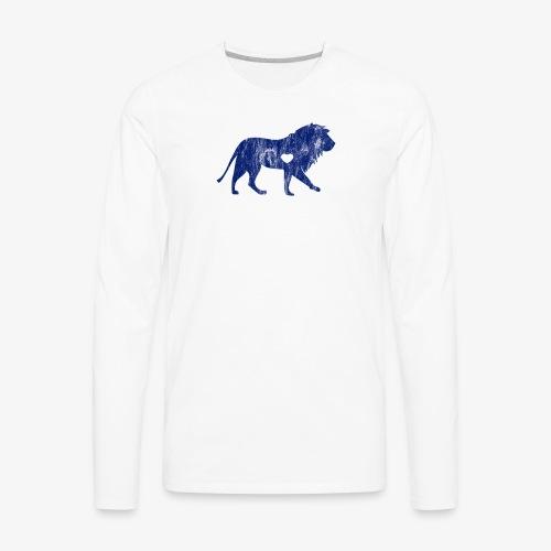 Lion Lion Lover Big Cat Sports Team Mascots I - Men's Premium Long Sleeve T-Shirt