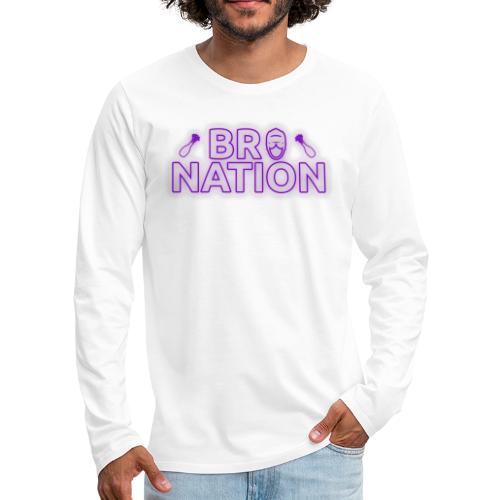 bronationlogo - Men's Premium Long Sleeve T-Shirt