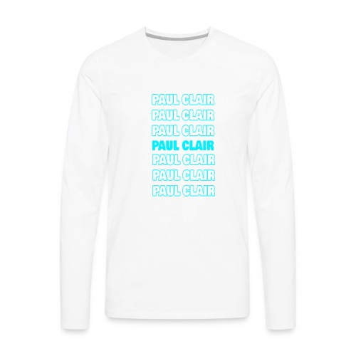 Paul Clair Stand Out Adult - Men's Premium Long Sleeve T-Shirt