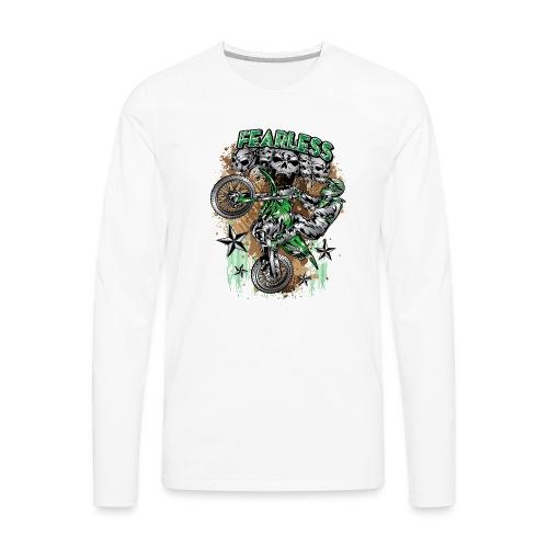 Fearless MX Kawasaki - Men's Premium Long Sleeve T-Shirt