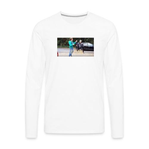 DTB Highfive - Men's Premium Long Sleeve T-Shirt