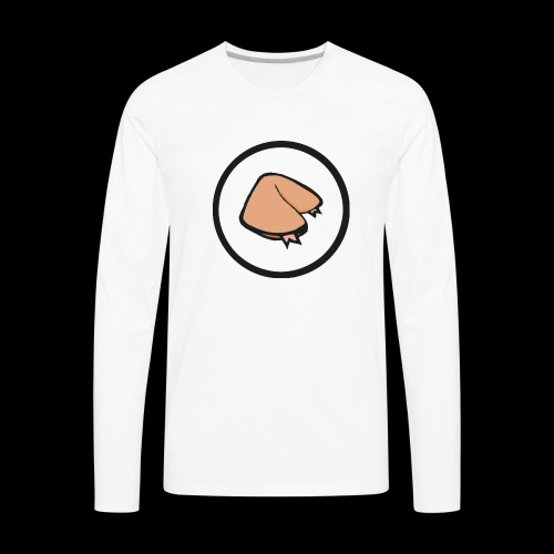 FORTUNE COOKIE DESIGNS - Men's Premium Long Sleeve T-Shirt
