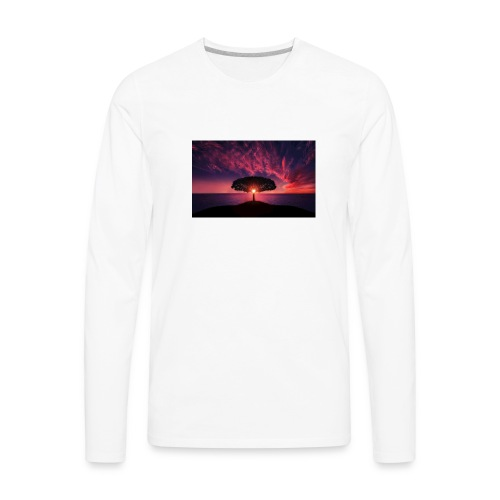 Tree of Sunlight - Men's Premium Long Sleeve T-Shirt