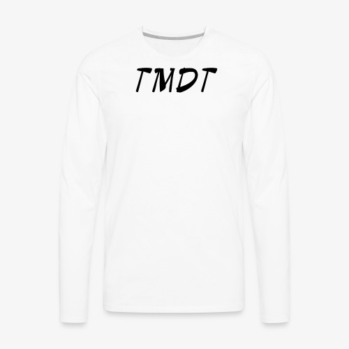 Official TMDT brand logo. - Men's Premium Long Sleeve T-Shirt