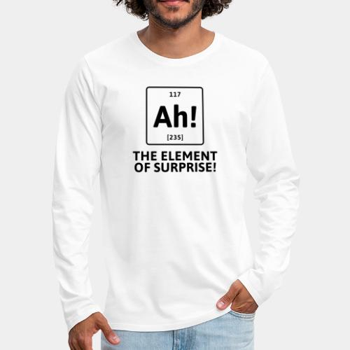 surprise - Men's Premium Long Sleeve T-Shirt