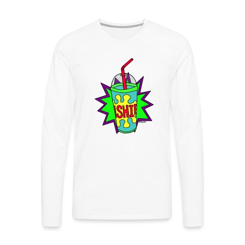 Retro Slushie - Men's Premium Long Sleeve T-Shirt