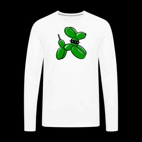 vector no text - Men's Premium Long Sleeve T-Shirt