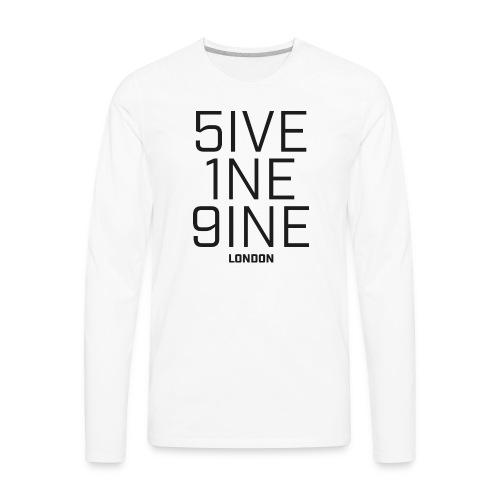 5IVE 1NE 9INE - Men's Premium Long Sleeve T-Shirt